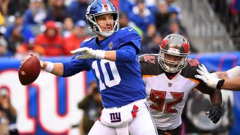 START: Eli Manning, QB, Giants: