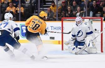 Lightning unable to fend off Predators, drop rematch 3-2