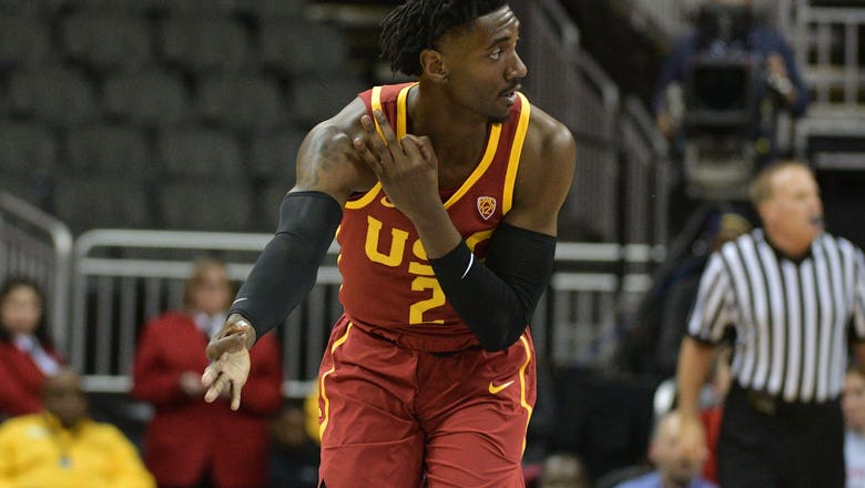 Andy Enfield: USC basketball is 'living in the moment,' discusses LeBron James Jr.
