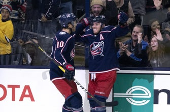 Atkinson extends goal streak to six as Blue Jackets top Maple Leafs, 4-2