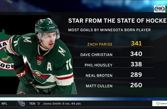 Wild's Parise now the State of Hockey's all-time leading scorer