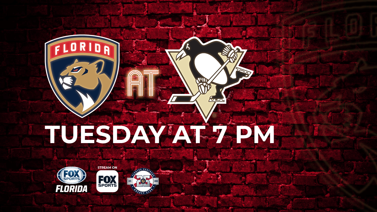 0e03a531 Florida Panthers at Pittsburgh Penguins game preview