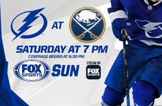 Preview: Lightning feeling confident as road trip begins in Buffalo