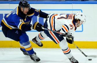 McDavid's shootout goal lifts Oilers past Blues 3-2