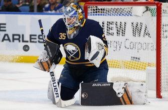 Ullmark makes 36 saves, Sabres shut out Ducks 3-0