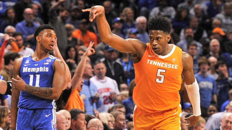 Admiral Schofield leads No. 3 Tennessee past Memphis with 29 points