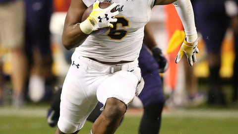 <p>               California safety Jaylinn Hawkins runs with the ball after intercepting a TCU pass during the first half of the Cheez-It Bowl NCAA college football game Wednesday, Dec. 26, 2018, in Phoenix. (AP Photo/Ross D. Franklin)             </p>