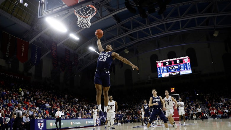 Penn ends No. 17 Villanova's city supremacy in 78-75 win