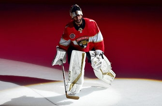 Roberto Luongo gets 77th career shutout in Panthers' 5-0 win over Bruins