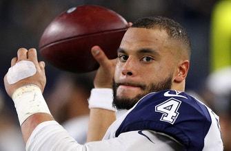 WATCH: Nick Wright thinks Sunday's Cowboys vs. Eagles game determines Dak Prescott's future in Dallas