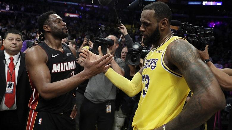 A fond farewell: Dwyane Wade, LeBron James cherish final matchup