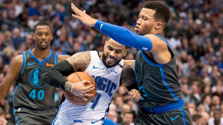Magic go down hard to Mavericks in Dallas