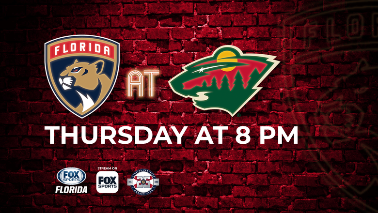 Preview: Panthers try to put loss behind them with visit Wild