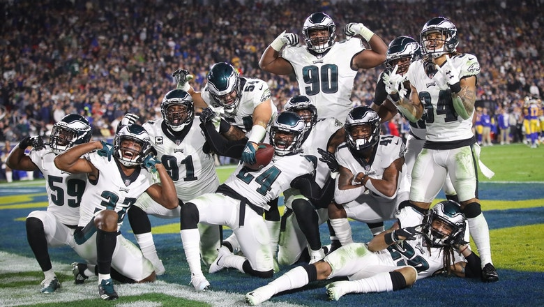 'It was definitely a team effort': Cris Carter on the Eagles upsetting the Rams 30-23