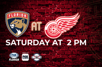 Preview: Panthers want to keep things simple in matinee showdown with Red Wings