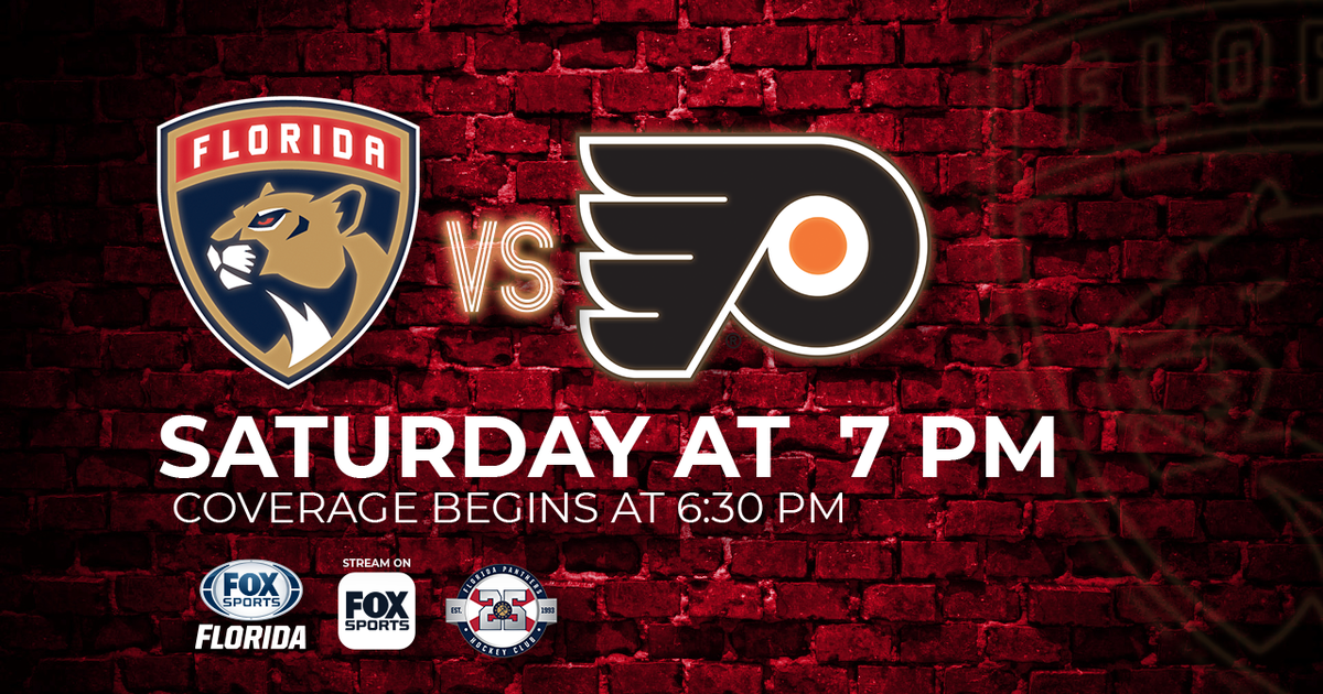 phildelphia flyers at florida panthers game preview