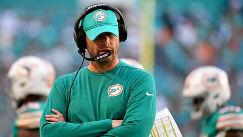 Dolphins cut ties with head coach Adam Gase