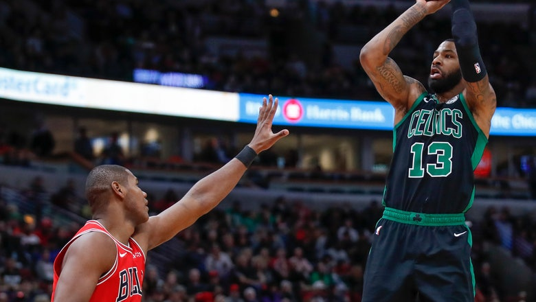 Brown nets 23, Celtics race past Bulls 133-77