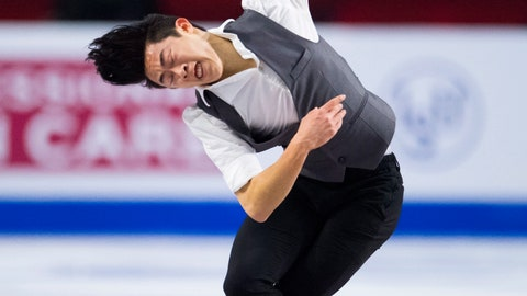 <p>               Nathan Chen, of the United States, performs during the men's short program at figure skating's Grand Prix Final in Vancouver, British Columbia, Thursday, Dec. 6, 2018. (Jonathan Hayward/The Canadian Press via AP)             </p>