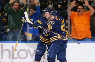 Skinner scores 22nd goal, Sabres beat Coyotes 3-1