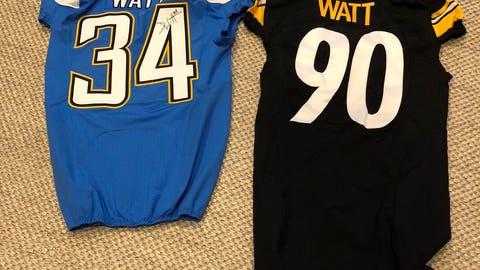 JJ Watt, former Badgers defensive end