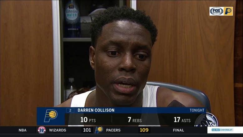 Collison on Turner: 'He's the best defensive big man'