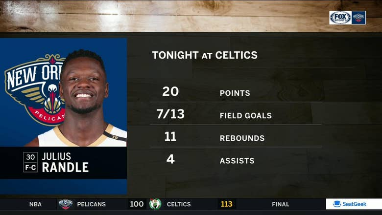 Julius Randle is stepping up as a Starter | Pelicans Live