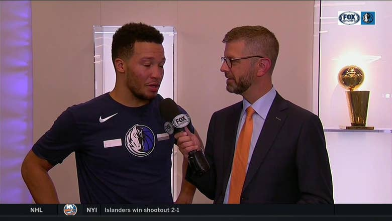 Jalen Brunson is in a groove to help Mavs beat Magic