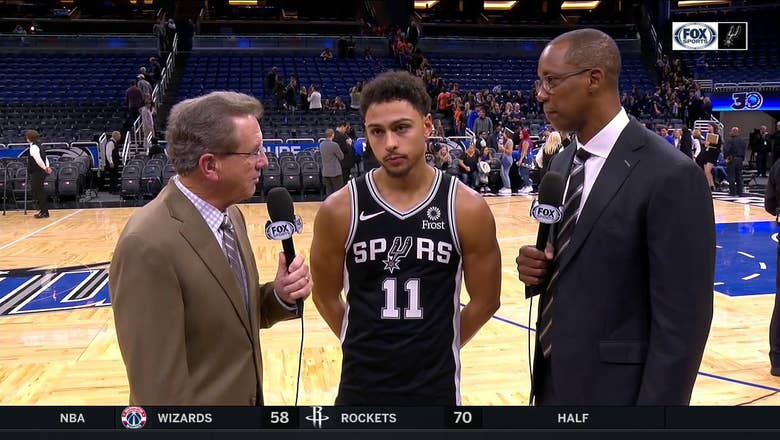 Bryn Forbes, Spurs blow out Orlando on the road | FOX Sports