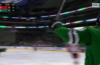 watch all five goal celebrations from the stars win vs red wings