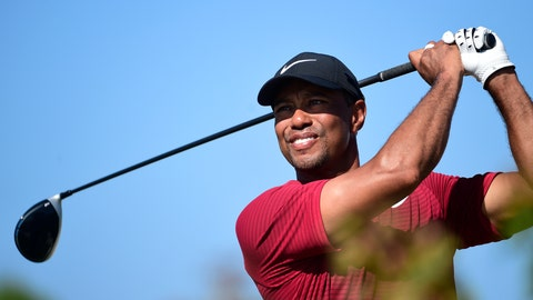 Woods avoids penalty as Rahm & Stenson share Hero World Challenge lead