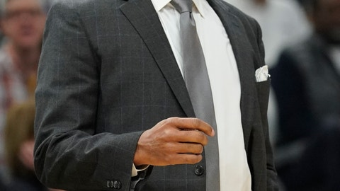 <p>               New Orleans Pelicans head coach Alvin Gentry reacts during the first half of an NBA basketball game against the Milwaukee Bucks Wednesday, Dec. 19, 2018, in Milwaukee. (AP Photo/Morry Gash)             </p>