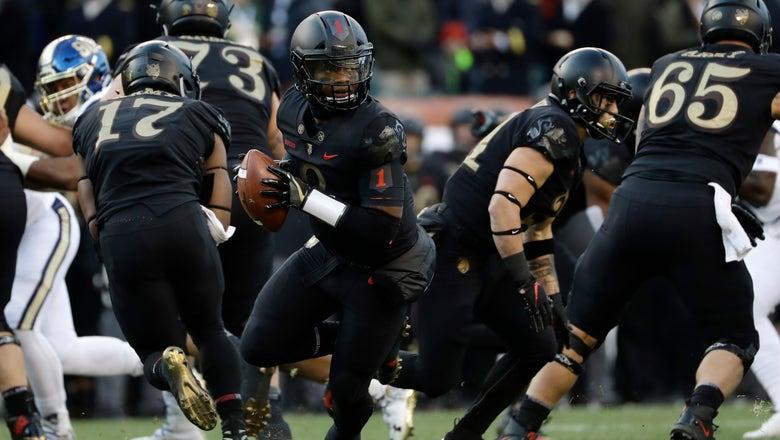 Army fullback Darnell Woolfolk a big key to team's success
