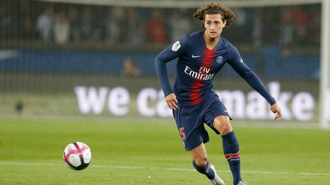 <p>               In this Sept. 26, 2018, photo, PSG's Adrien Rabiot controls the ball during the French League One soccer match between Paris-Saint-Germain and Reims at Parc des Princes stadium in Paris, France. Rabiot was once Paris Saint-Germain's most promising player: a talented local lad who rose through the ranks to become a huge fan favorite. Now the relationship between PSG, Rabiot and the fans is so toxic it's beyond repair. PSG fans jeered Rabiot when he came in a Champions League game against Liverpool last month. Like the club, they have grown weary of endless contract talks. PSG's patience snapped this week and it looks like Rabiot is certain to be sold in January.(AP Photo/Michel Euler)             </p>