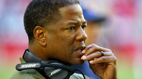 <p>               FILE - In this Nov. 18, 2018, file photo, Arizona Cardinals head coach Steve Wilks watches during the first half of an NFL football game against the Oakland Raiders, in Glendale, Ariz. The Atlanta Falcons defeated the Cardinals 40-14 on Sunday, Dec. 16. Another blowout loss has first-year coach Steve Wilks on even shakier ground. (AP Photo/Ross D. Franklin, File)             </p>