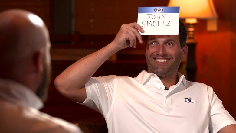 Brian McCann, Jeff Francoeur play hilarious game of Heads Up