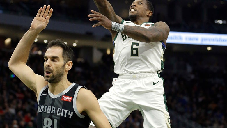 Bledsoe scores 27, leads Bucks to 115-92 win over Pistons