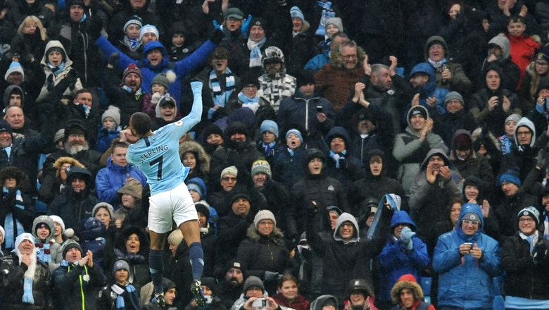 Jesus double leads Man City past Everton 3-1