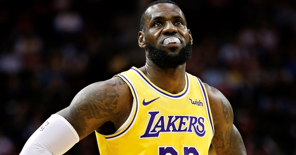 more photos dd0e3 48717 Shannon Sharpe calls LeBron and the Lakers' performance ...