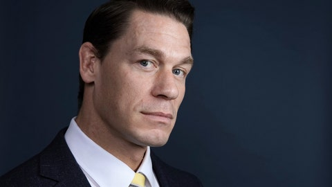 "<p>               This Dec. 9, 2018 photo shows WWE star-turned-actor John Cena posing for a portrait at the Four Seasons Hotel to promote his  film ""Bumblebee"" in Los Angeles. (Photo by Rebecca Cabage/Invision/AP)             </p>"