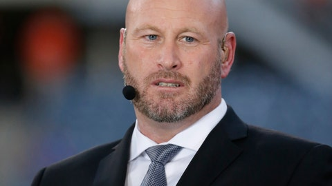 "<p>               FILE - In this Sept. 19, 2016, file photo, Trent Dilfer talks during ESPN's ""Monday Night Countdown"" before an NFL football game between the Chicago Bears and the Philadelphia Eagles, in Chicago. Dilfer has been head coach for the national high school quarterback competition known as Elite 11 since 2011, and even in that short period of time the quality of players coming through the program has drastically improved. (AP Photo/Charles Rex Arbogast, File)             </p>"