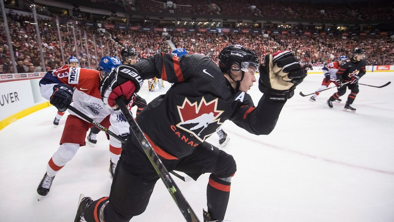 Canada beats Czech Republic 5-1 in world junior hockey