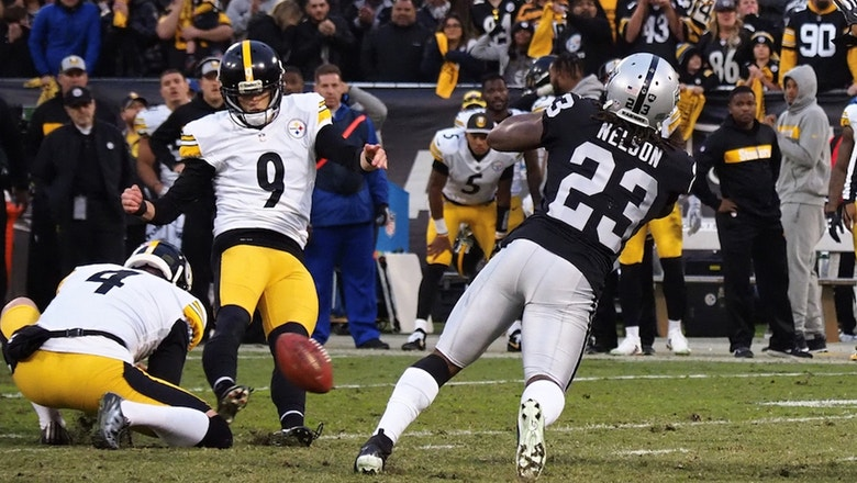 Nick Wright believes the Steelers missed out on a 'golden opportunity' vs. the Raiders