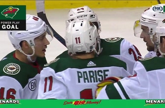 WATCH: Wild score three power-play goals in Vancouver