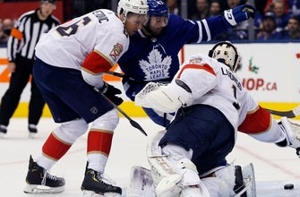 Panthers fail to contain Auston Matthews in 6-1 road loss to Maples Leafs