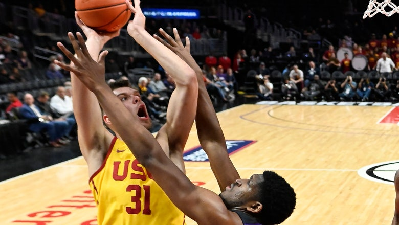 TCU dominates USC 96-61 in hoops tripleheader at Staples