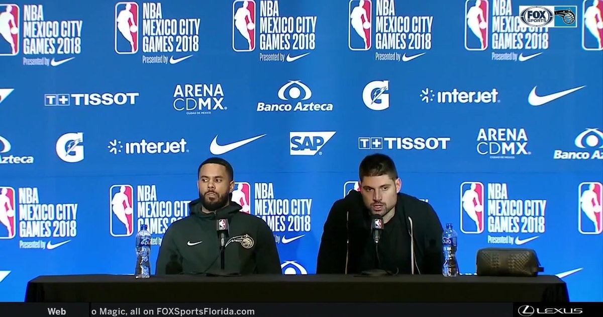 D.J. Augustin, Nikola Vucevic discuss sense of urgency to win in Mexico City after dropping last 3 games