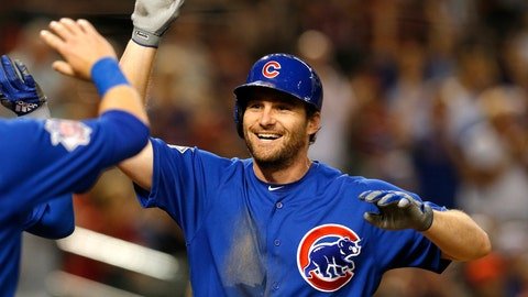 <p>               FILE - In this Sept. 18, 2018, file photo, Chicago Cubs second baseman Daniel Murphy is congratulated during the team's baseball game against the Arizona Diamondbacks in Phoenix. The Colorado Rockies have brought in Murphy to boost an offense big on pop but lackluster in batting average. The veteran infielder has agreed to a $24 million, two-year contract with the Rockies, a person familiar with the negotiations told The Associated Press on Thursday night, Dec. 20. The person spoke on condition of anonymity because the deal was subject to a successful physical. (AP Photo/Rick Scuteri, File)             </p>