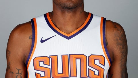 <p>               File-This photo taken Sept. 24, 2018, shows Phoenix Suns' Trevor Ariza posing for a photograph during media day at the NBA basketball team's practice facility in Phoenix. A person familiar with the deal says the Washington Wizards have an agreement in principle to acquire Ariza from the Phoenix Suns for Kelly Oubre Jr. and Austin Rivers. The person spoke to The Associated Press on condition of anonymity Saturday, Dec. 15, 2018, because it had not been announced by either team.  (AP Photo/Matt York, File)             </p>