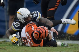 Bengals hang with Bolts, but fall short as skid hits 5 games